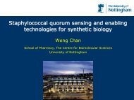 Staphylococcal quorum sensing and enabling technologies for synthetic biology