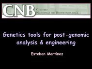 Genetics tools for post-genomic analysis & engineering