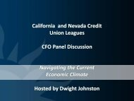 Performance Analysis - The California and Nevada Credit Union ...