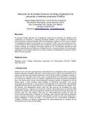Aplicación de la realidad virtual en el trabajo colaborativo de ...
