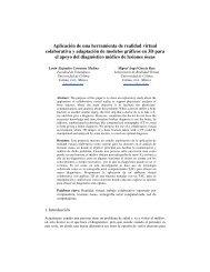 Aplicación de una herramienta de realidad virtual colaborativa y ...