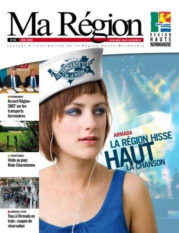 Ma Région N°65 (pdf - 2,88 Mo) - Région Haute Normandie