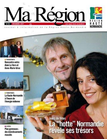 Ma Région N°59 (pdf - 1,47 Mo) - Région Haute Normandie