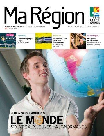 Ma Région N°76 (pdf - 2,06 Mo) - Région Haute Normandie