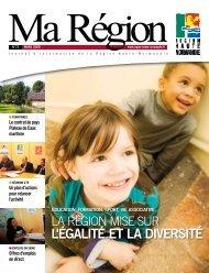 L'ÉGALITÉ ET LA DIVERSITÉ - Région Haute Normandie