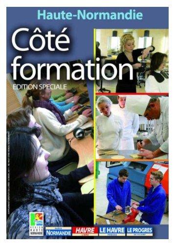 """""""Formation"""" parue dans le Paris-Normandie en mars 2011 (pdf - 2,45"""