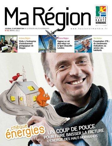 Ma Région n°95 (pdf - 4,55 Mo) - Région Haute Normandie