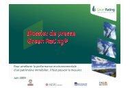 DOSSIER DE PRESSE GREEN RATING_Vdef2 - Bureau Veritas