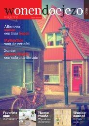 WonenDoeJeZo Midden-West Nederland, editie september 2015