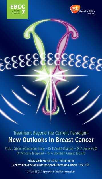 New Outlooks in Breast Cancer