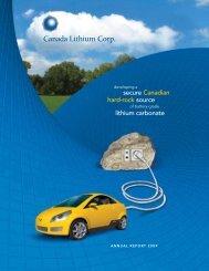 Canada Lithium Corp