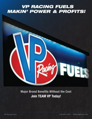 VP Racing Fuels - Branding Packet 2012