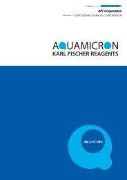 Aquamicron Karl Fischer Reagents