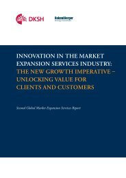 Global Market Expansion Services Report - DKSH Vietnam
