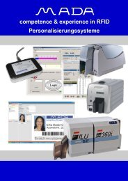 competence & experience in RFID Personalisierungssysteme
