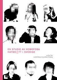 EN STUDIE AV HOMOFOBA HATBR TT I SVERIGE