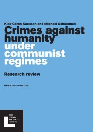 Crimes against humanity under communist regimes