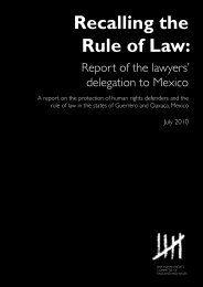 Recalling the Rule of Law