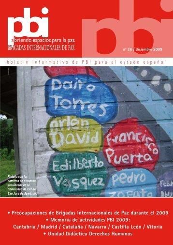 boletín informativo de PBI para el estado español ... - PBI Guatemala