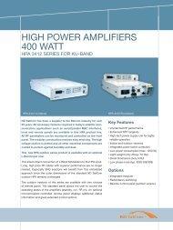 400 Watt HPA 3412 Series - NEW ERA SYSTEMS INC.