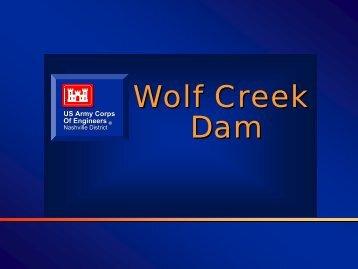 Wolf Creek Dam