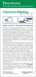 Programm »Symposium für Praxis- und Pflegekäfte