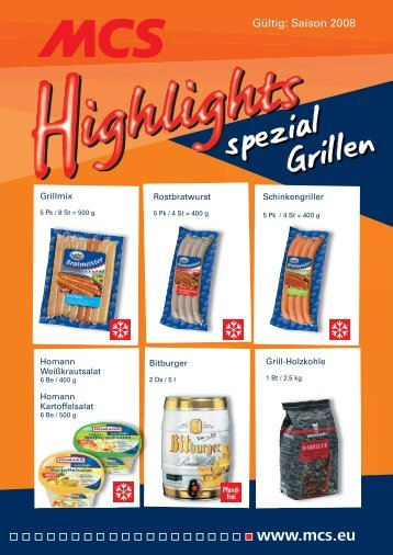 spezial Grillen - MCS Marketing und Convenience-Shop System ...