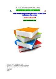 HTT 240 Week 4 Assignment Plan a Menu/snaptutorial