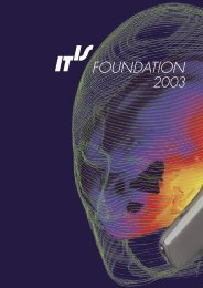 download report - IT'IS Foundation