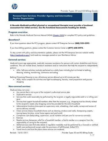 Mississippi division of medicaid provider billing handbook.