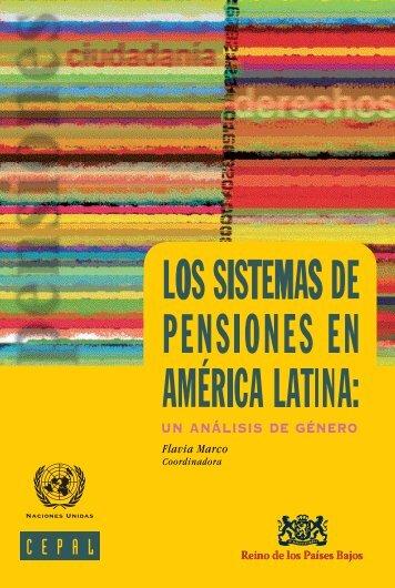 Los sistemas de pensiones en América Latina: un análisis de género