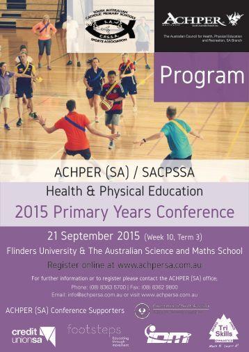 2015 Primary Conference Program