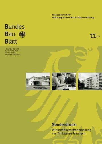 Bundes Bau Blatt