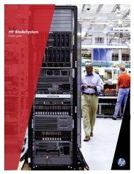 HP BladeSystem - Family Guide (U.S. English) - Nike Computing