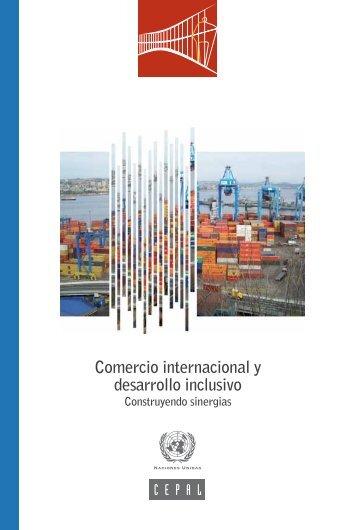 Comercio internacional y desarrollo inclusivo: construyendo sinergias