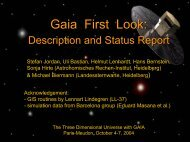 Gaia First Look