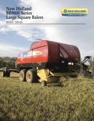 New Holland BB9000 Series Large Square Balers