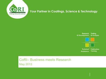 CoRI– Business meets Research