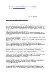 Bericht von Michael Esser über die Ausstellung in Eupen - (Genter ...