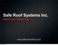Safe Roof Systems Inc