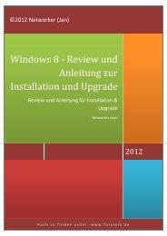 Anleitung zur Installation und Upgrade