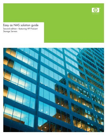 Easy as NAS solution guide - HP