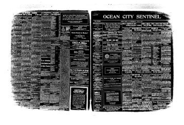 Jun 1919 - On-Line Newspaper Archives of Ocean City