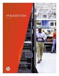 HP BladeSystem - Sirius Computer Solutions