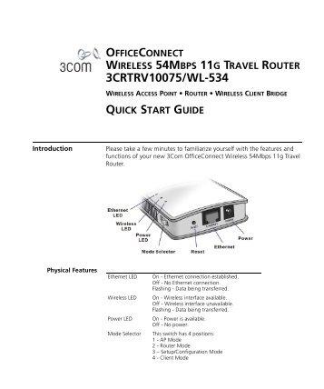 3COM OFFICECONNECT WIRELESS 54MBPS 11G USB ADAPTER TREIBER WINDOWS 10
