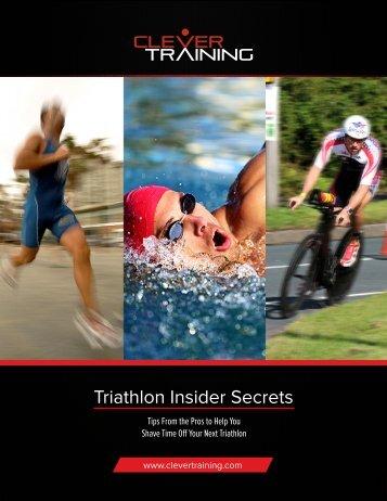 Triathlon Insider Secrets