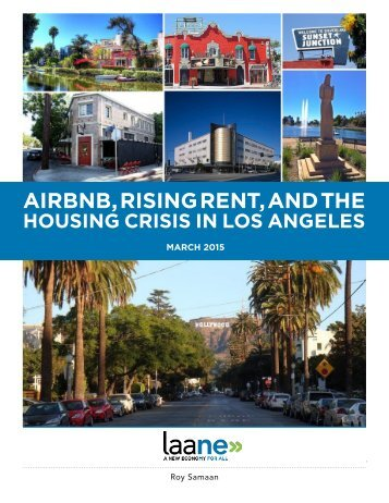 AIRBNB RISING RENT AND THE