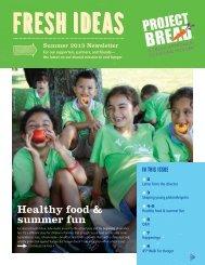 Healthy food & summer fun