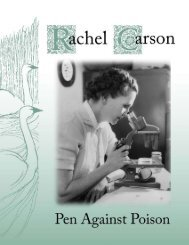 Rachel Carson_Pen Against Poison - American Corners and ...