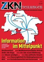 Information - Zahnärztekammer Niedersachsen